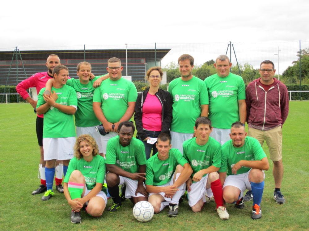 Les footballeurs de l'ESAT remportent le tournoi de foot départemental Inter-ESAT