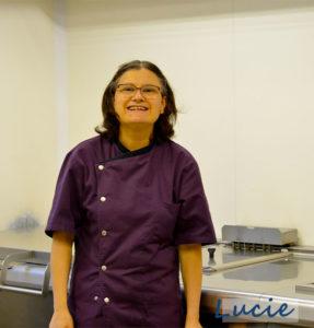 Lucie cusinière de l'ESAT