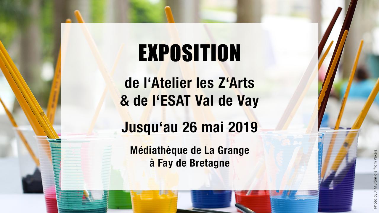Exposition à Fay de Bretagne jusqu'au 26 mai 2019