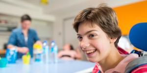 Accompagnement des jeunes à l'IEM de l'Estran à Saint-Nazaire