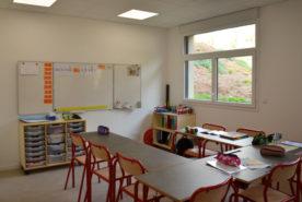 Salle de classe de l'IME SESSAD La Fleuriaye à Carquefou