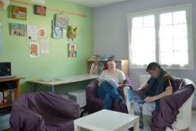 Accompagnement de personnes en situation de handicap au Log'Ac SAVS à Nozay