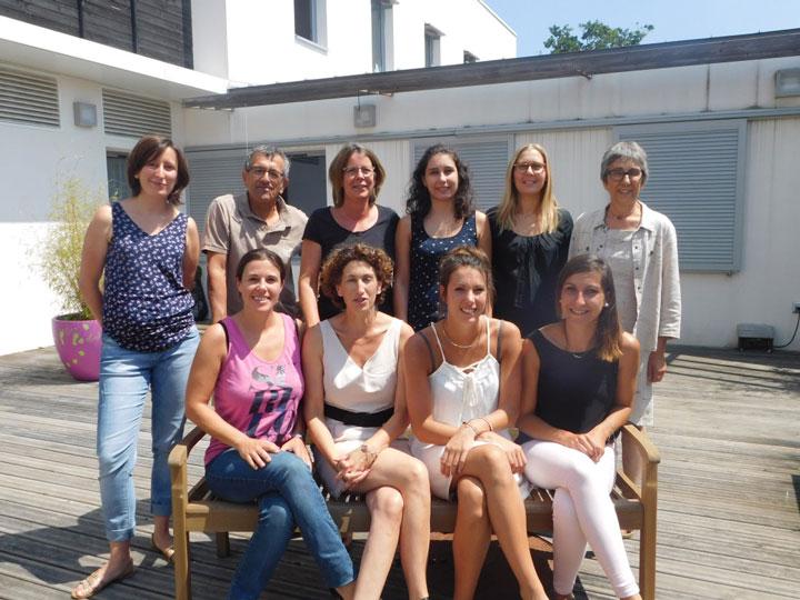 Equipe du SESSAD Les Pitchouns à Saint-Nazaire