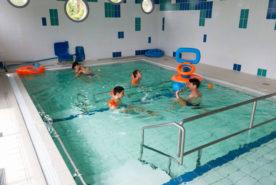 La salle de balnéothérapie à l'IEM de l'Estran à Saint-Nazaire
