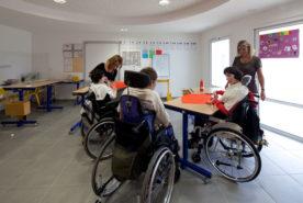 À l'IEM les enfants peuvent suivre une scolarité personnalisée.