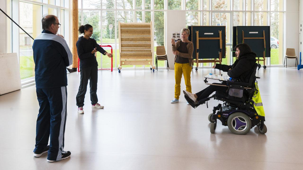 L'activité physique adaptée au Centre MPR Côte d'Amour