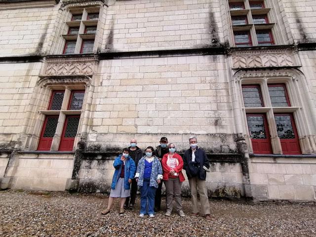 Visite du château de Goulaine pour les usagers de la Résidence Erdre et Cens