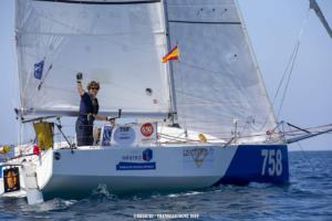 Nicolas Guibal, skipper amateur